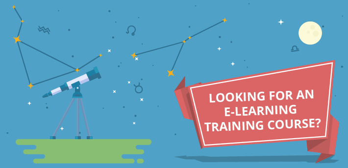 e-learning training course