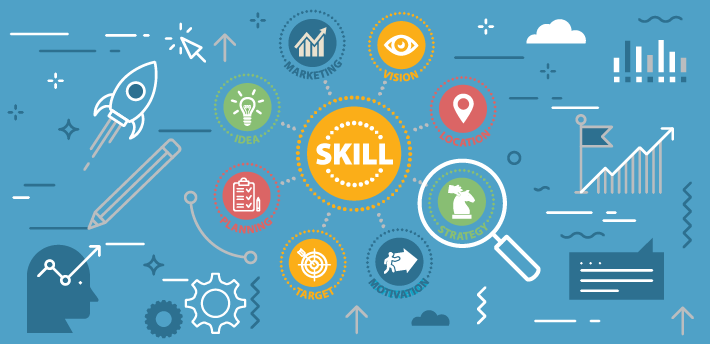 skill using e-learning