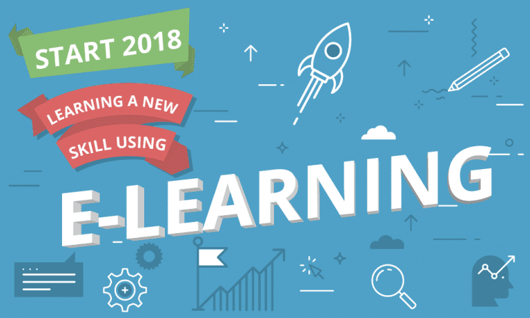 Start 2018 learning a new skill using e-learning-01
