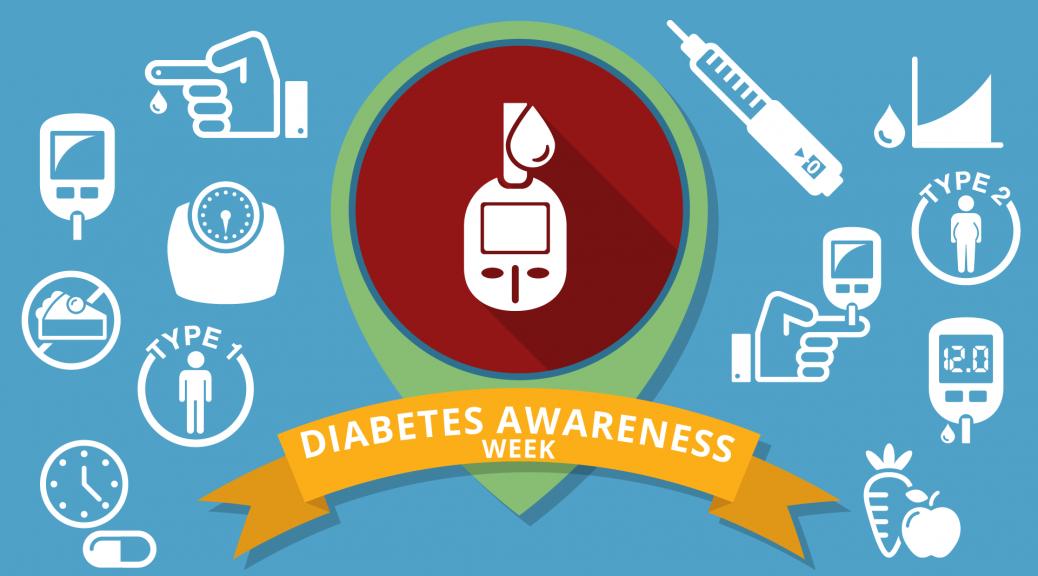 Diabetes Awareness Week 2018 - 11th – 18th June
